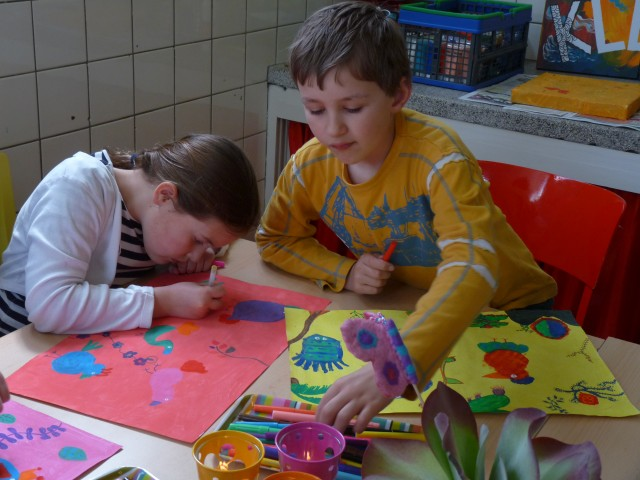 Tekenen met kinderen